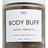 Salt by Hendrix Coffee and Marula Oil Body Buff