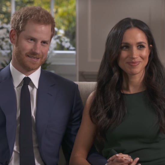 Meghan Markle's Green Dress For Engagement Interview