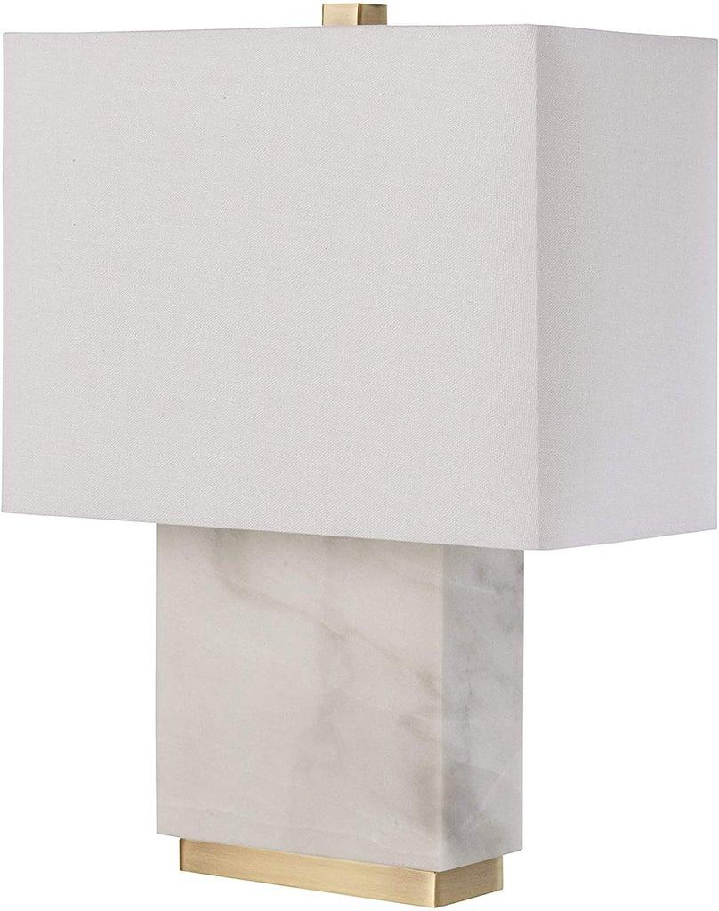 Rivet Mid-Century Modern Rectangle Living Room Table Lamp