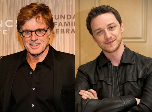 James McAvoy May Star in Redford's Lincoln Movie