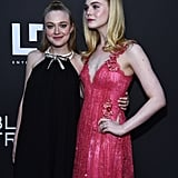 Dakota and Elle Fanning at Teen Spirit Premiere April 2019