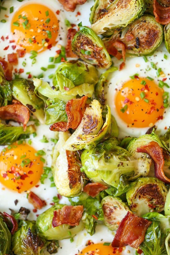Brussels Sprouts, Eggs, and Bacon