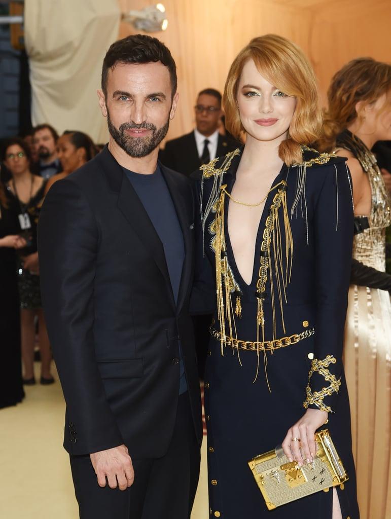 Emma Stone's Dress at the Met Gala 2018