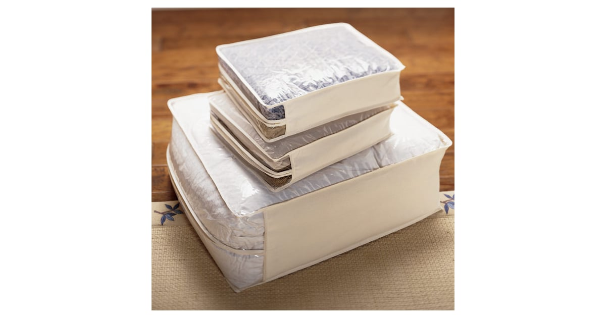 Natural Cotton Peva Storage Bags Top Rated Organizing
