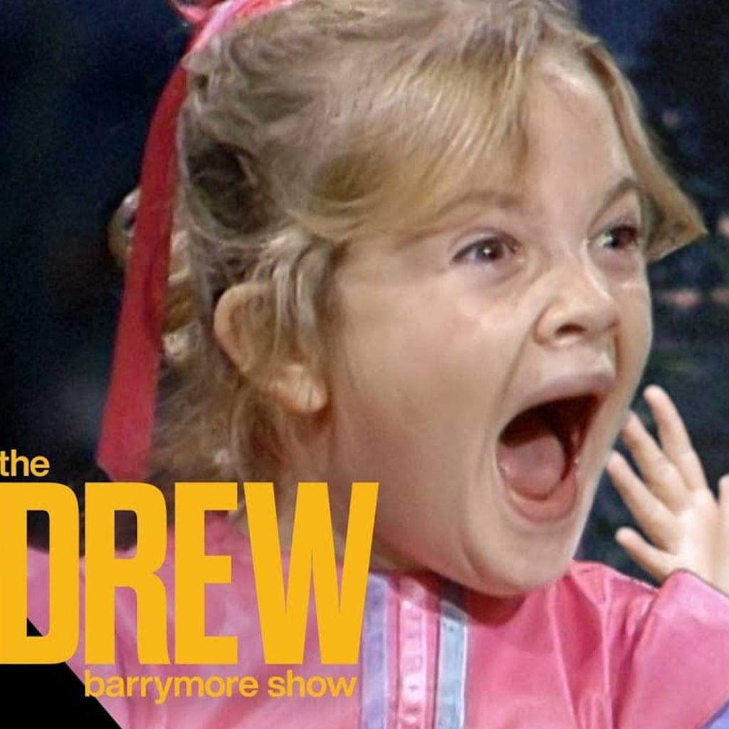 Drew Barrymore Interviews Her 7-Year-Old Self   Video