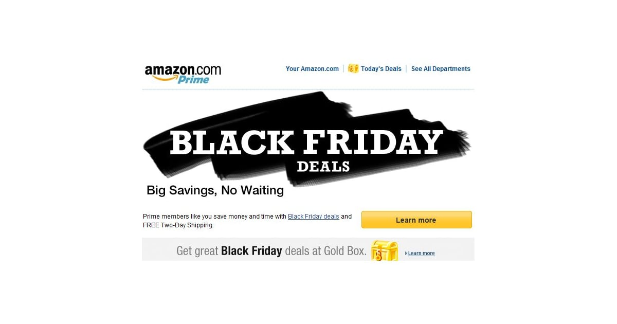 Best Amazon Black Friday Deals 2013 Popsugar Smart Living