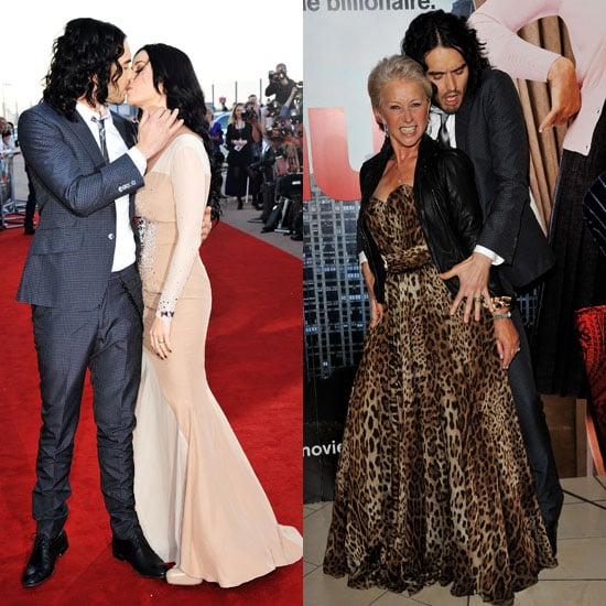 Russell Brand and Katy Perry Kissing Pictures at London Premiere of Arthur 2011-04-19 12:08:11