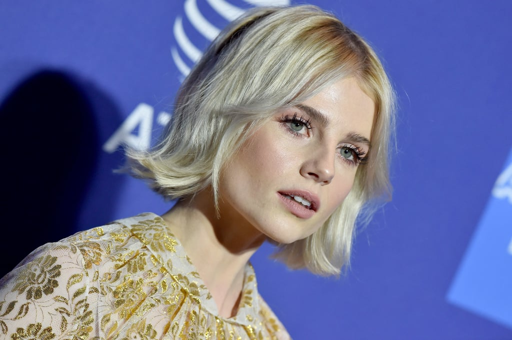 Lucy Boynton's Dolly Lashes, 2019