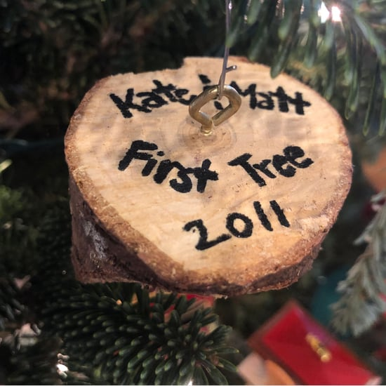 Christmas Tree Stump Homemade Ornaments