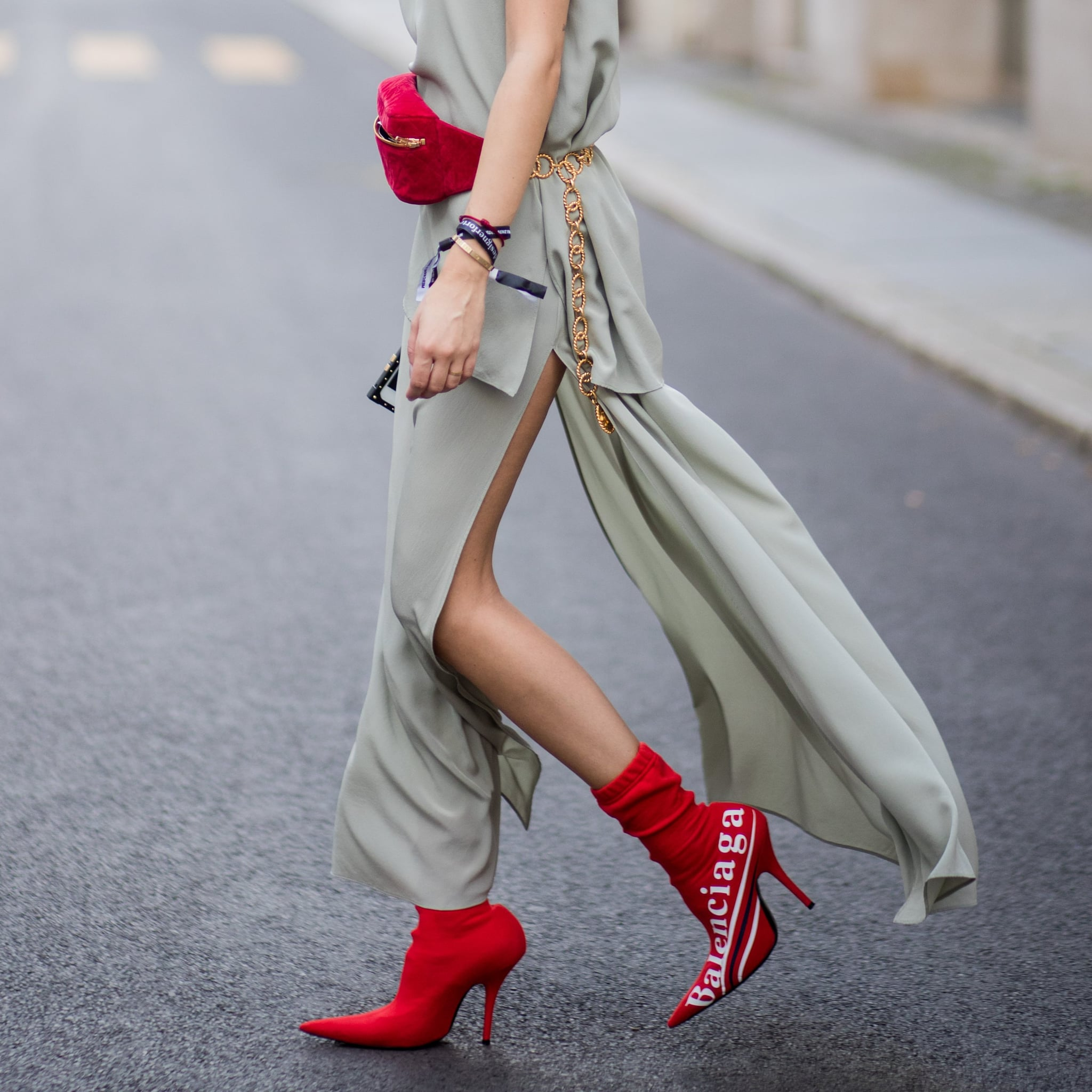 Fashion style This Naked Shoe Trend Is the Ultimate Leg Lengthener for lady