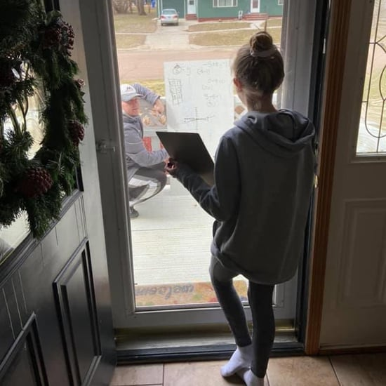 Math Teacher Helps Student Solve Problem Through Front Door
