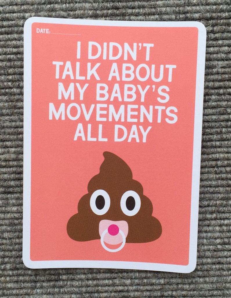 Mum's Milestones Funny Milestone Cards For Parents