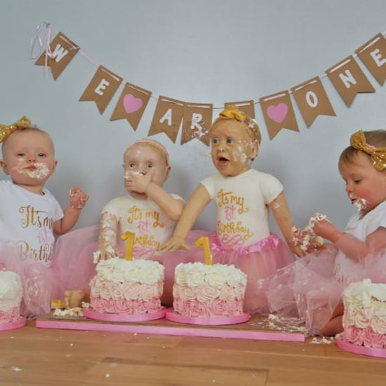 First Birthday Lifelike Baby Cake Smash