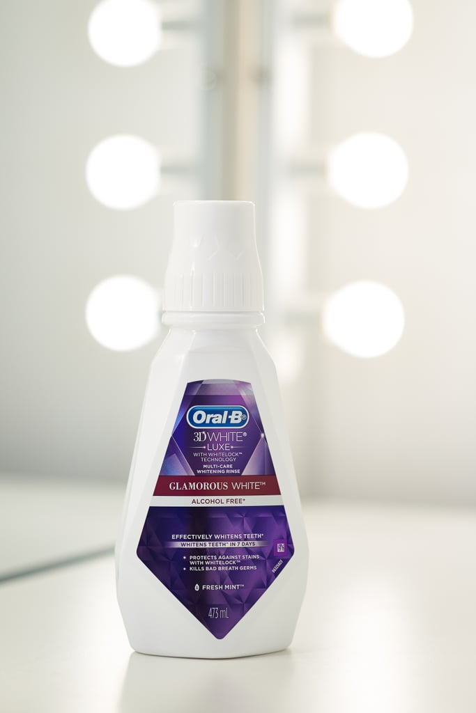 Oral-B 3D White Glamorous White Rinse (473ml), $8.49