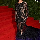 Beyoncé Knowles looked delighted to be attended the Met Gala in NYC.