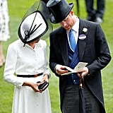 Meghan Markle and Prince Harry Reading a Race Card 2018