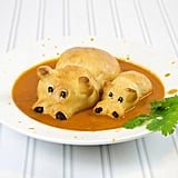 Pair your favorite soup with these adorable bread hippos!