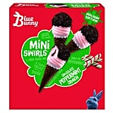 Blue Bunny Chocolate Peppermint Crunch Mini Swirls