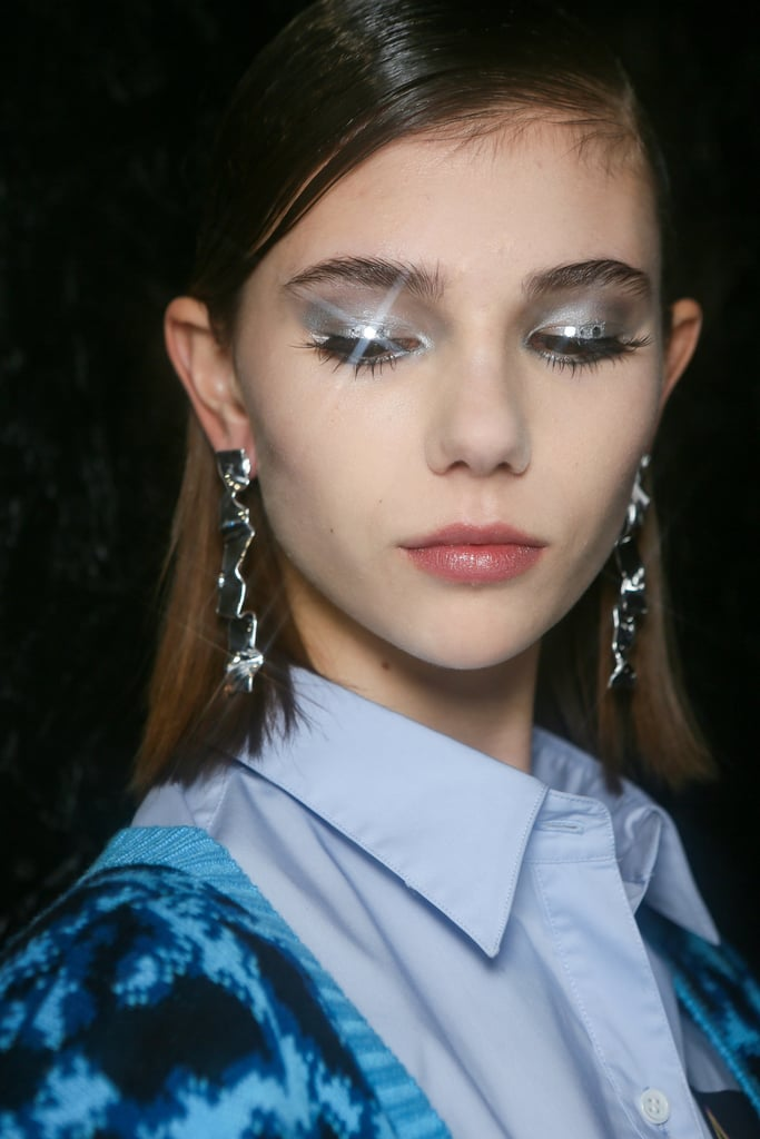 Flashes of Glitter at Mark Fast Autumn 2021