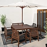 Äpplarö Table With 6 Armchairs and Bench