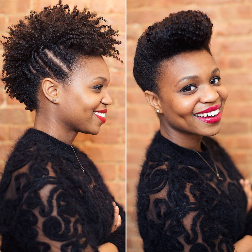 Updos for natural hair popsugar beauty 2 holiday hair ideas that will make you glad you went natural urmus Images