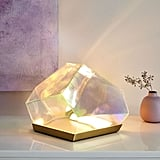 Get the Look: Glass Gem LED Table Lamp