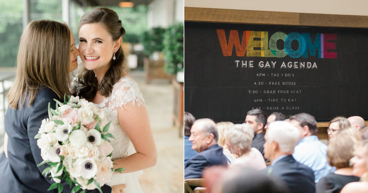 These Brides Had the Sweetest Wedding, and Wait Until You See Their First Look