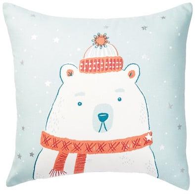 Polar Bear Pillow ($20)