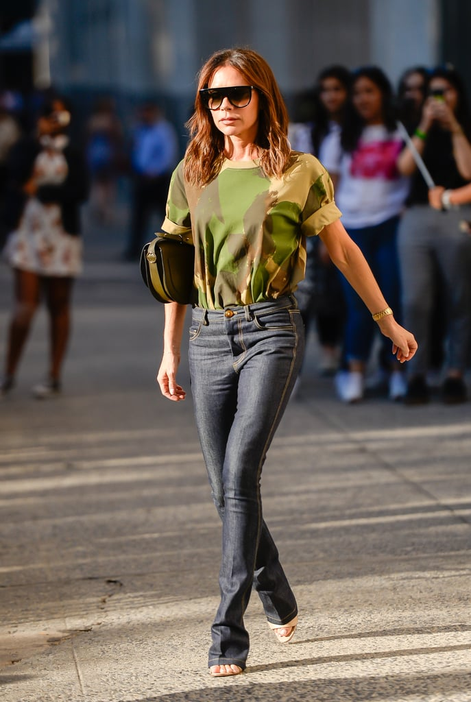 How to Wear Jeans: Victoria Beckham