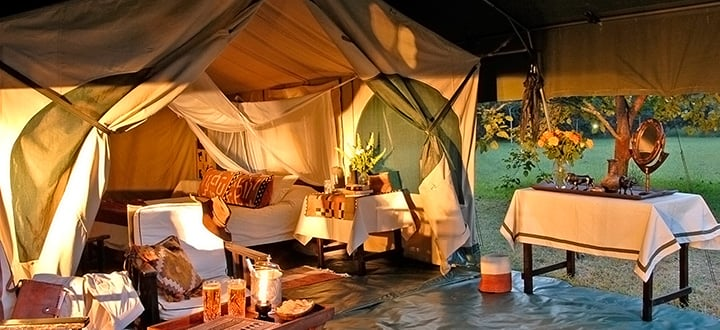 Go Glamping in Africa