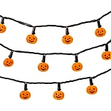 Hyde and Eek! Boutique Halloween LED Pumpkin String Lights