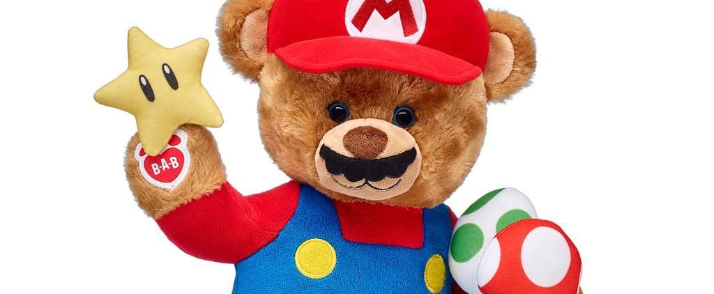 Build-A-Bear Nintendo Super Mario Collection December 2017