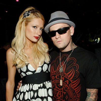 Paris Hilton and Benji Madden at the Bellagio Hotel
