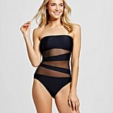 Mossimo Mesh Inset One Piece