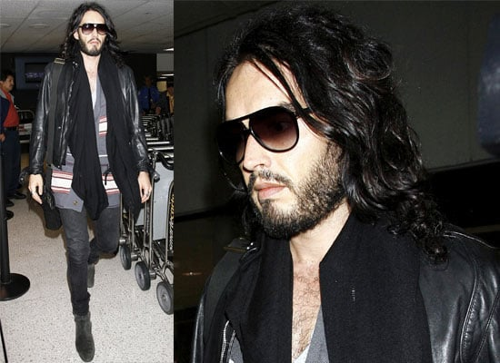Photos of Russell Brand at LAX