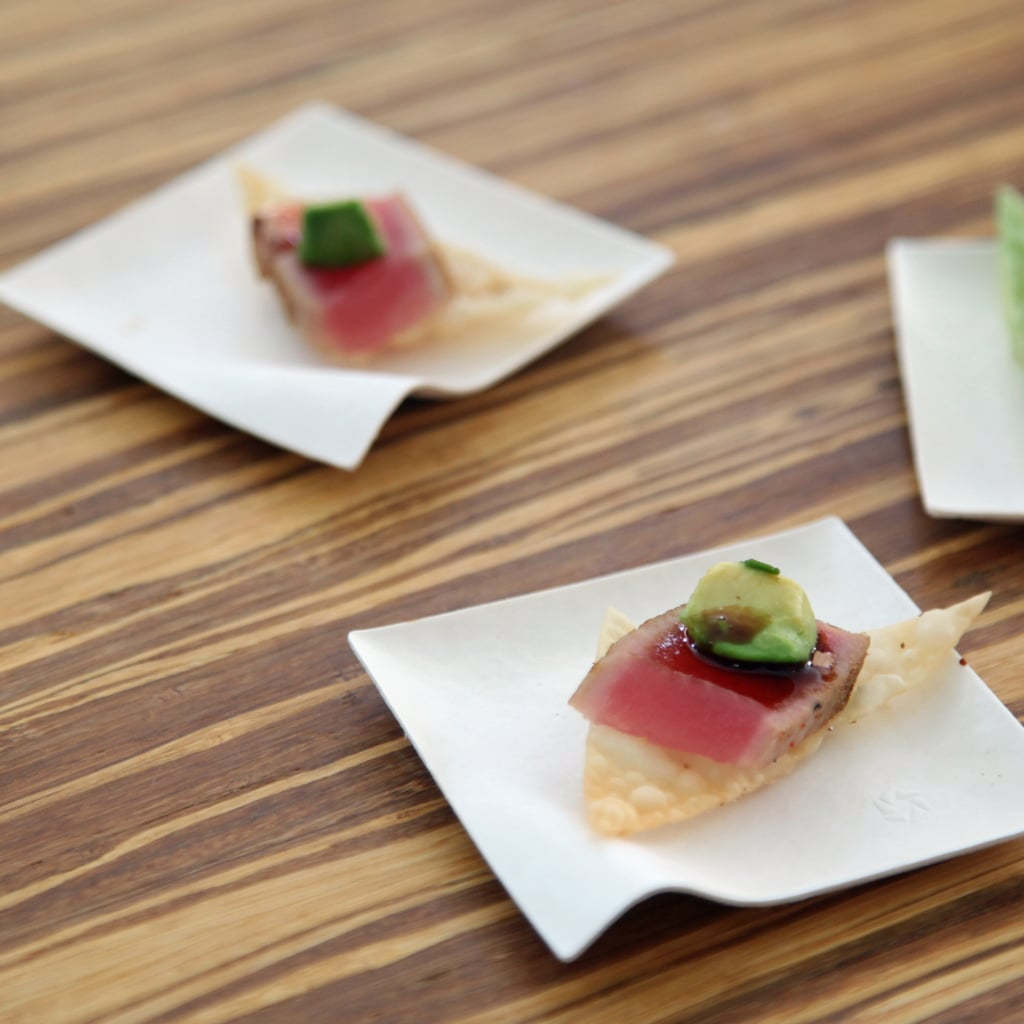 Seared Ahi Tuna With Avocado
