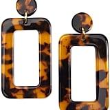 Zenzii Gold-Tone Acetate Cutout Drop Earrings