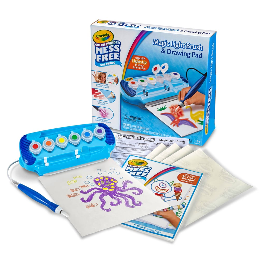 Crayola Color Wonder Magic Light Brush & Drawing Pad | New Toys 2017 ...