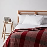 John Lewis Highland Check 100% Wool Throw