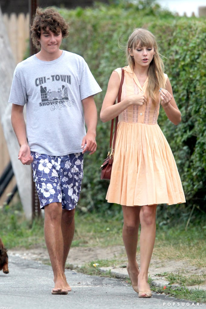 Taylor Swift and Conor Kennedy hung out together.