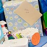 Basketball-Themed Baby Shower Ideas