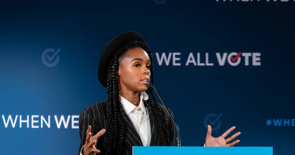 "Janelle Monáe: ""Use Your Power And Your Vote"""