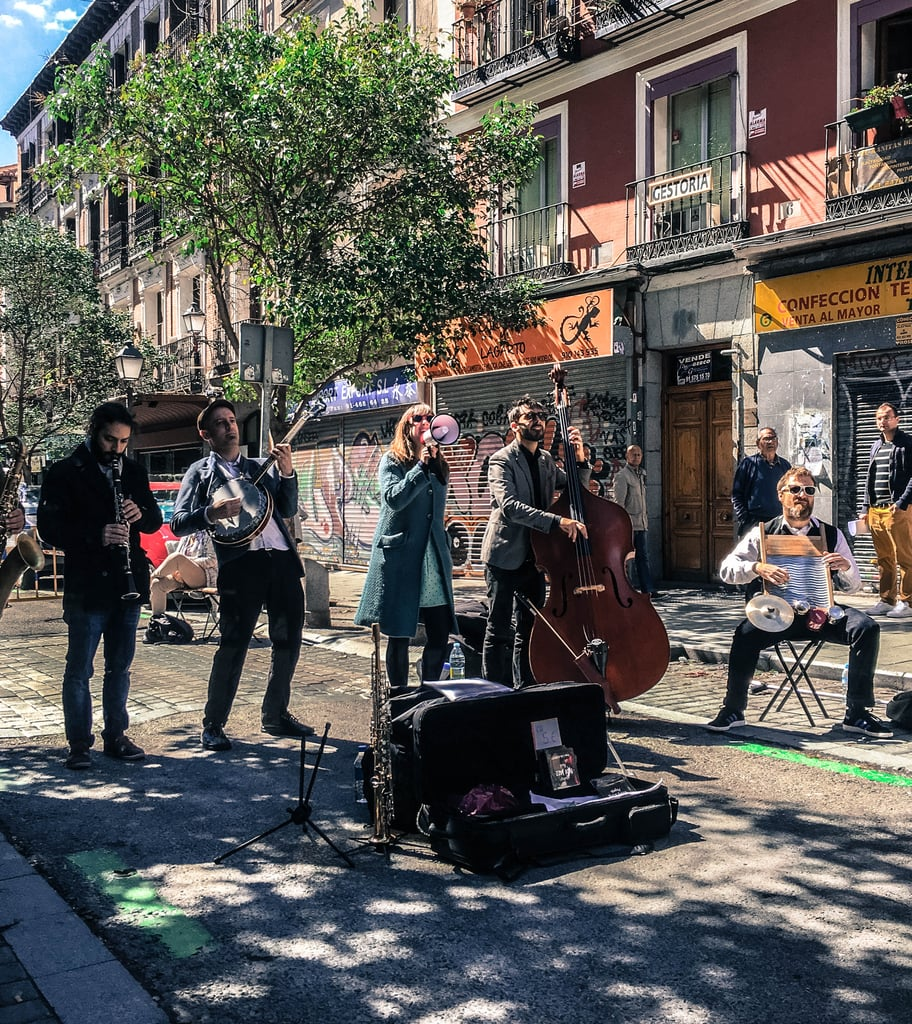 Oh, and don't be surprised if you turn the corner and suddenly come across live music. No matter the time or place, this seemed to happen each day my husband and I were exploring, and I loved each and every encounter.