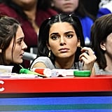 Kendall Jenner Sitting Courtside at a Los Angeles Clippers Game in January 2019