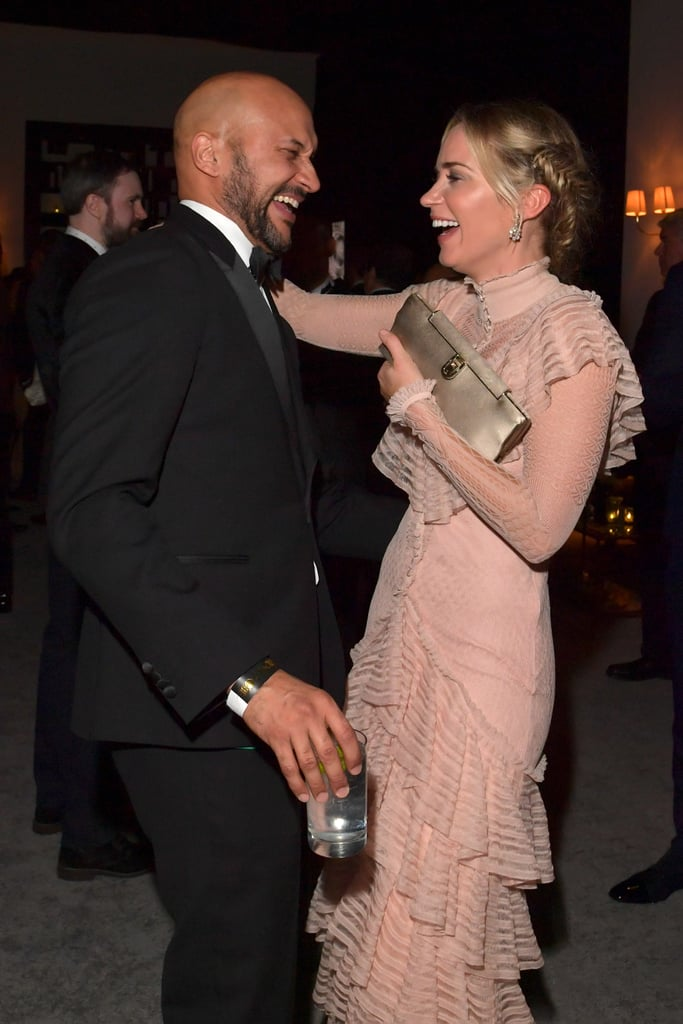 Pictured: Keegan-Michael Key and Emily Blunt
