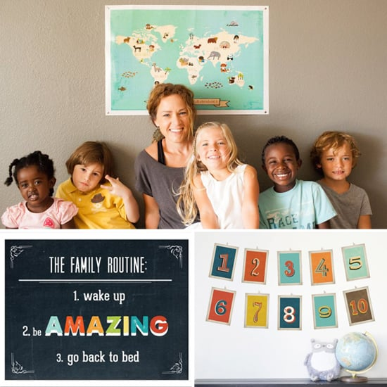 Children Inspire Design Prints For Charity