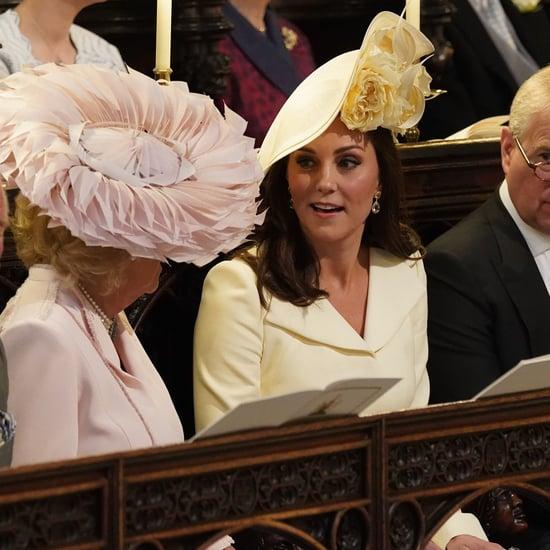 Royal Family at Prince Harry and Meghan Markle's Wedding