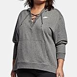 Nike Plus Size Sportswear Lace-Up Hoodies