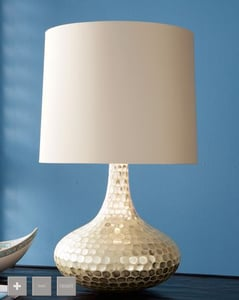 Crave Worthy: Neiman Marcus Textured Lamp