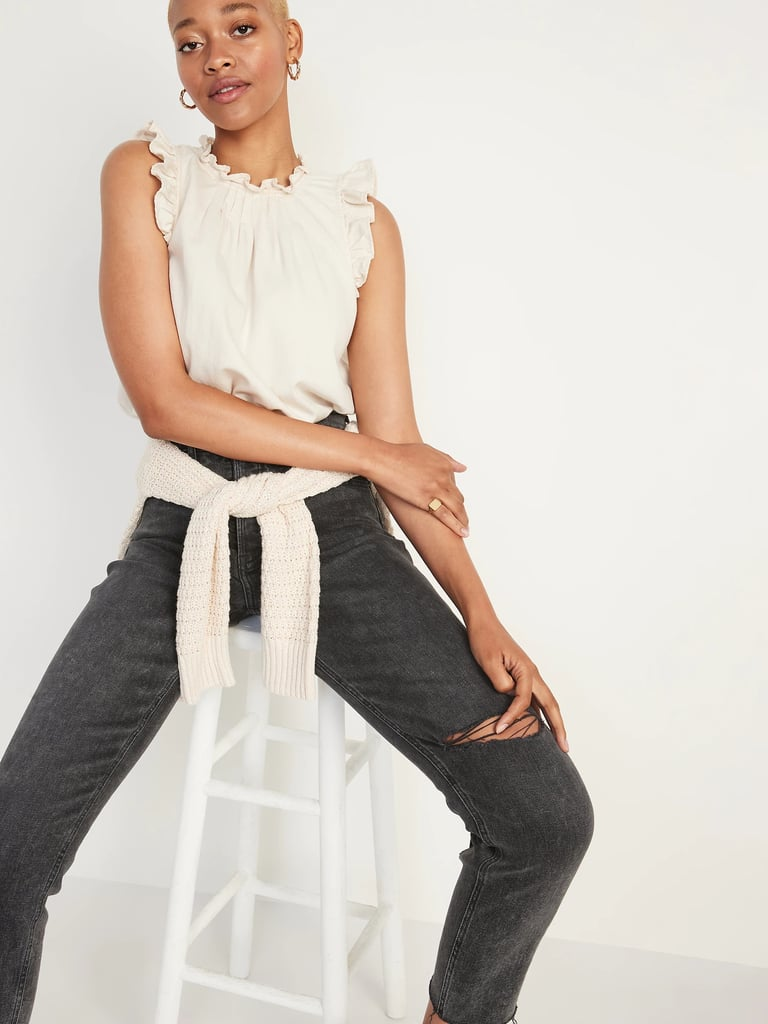 Best High-Waisted Jeans From OldNavy 2021
